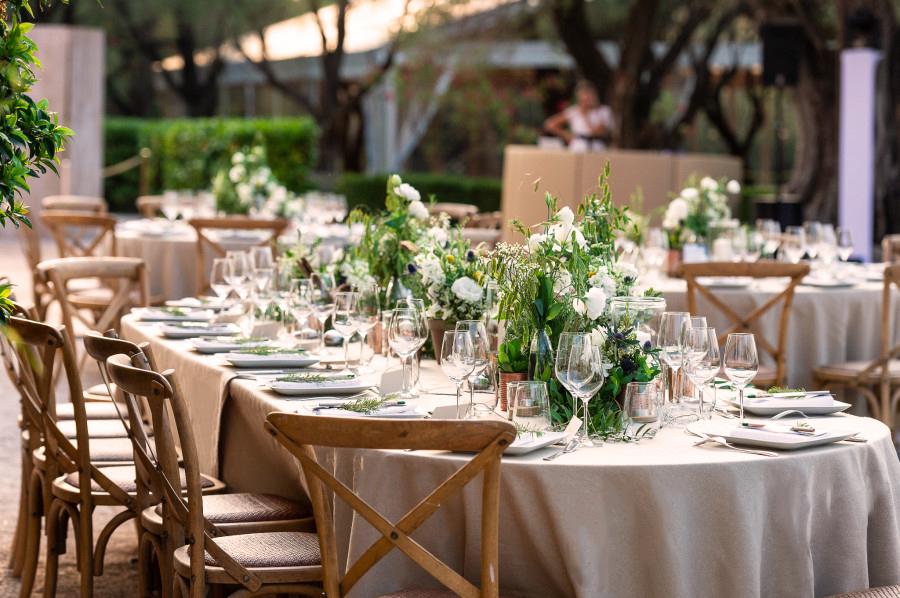 décoration mariage vegetal