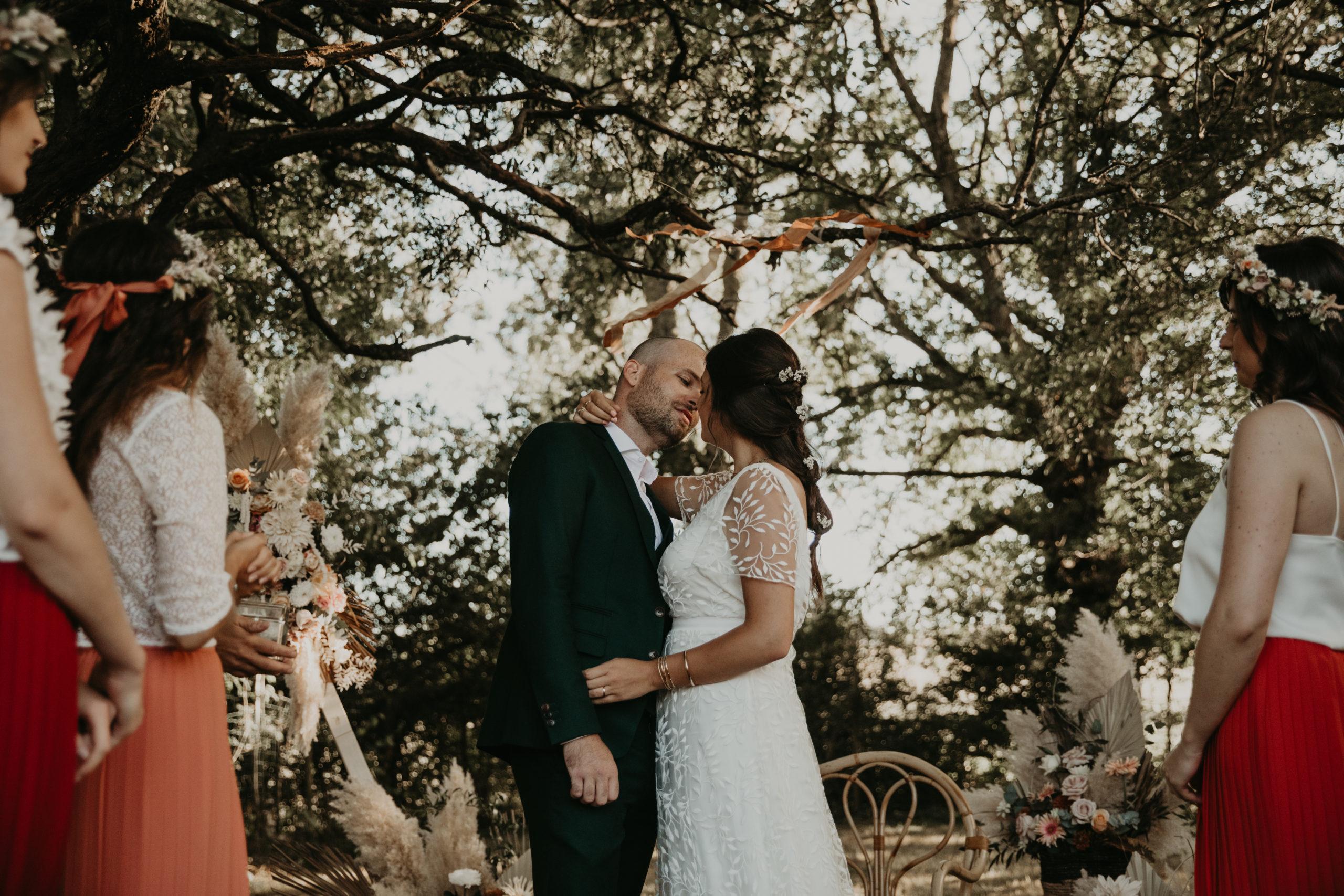 cérémonie laique mariage maison solstice