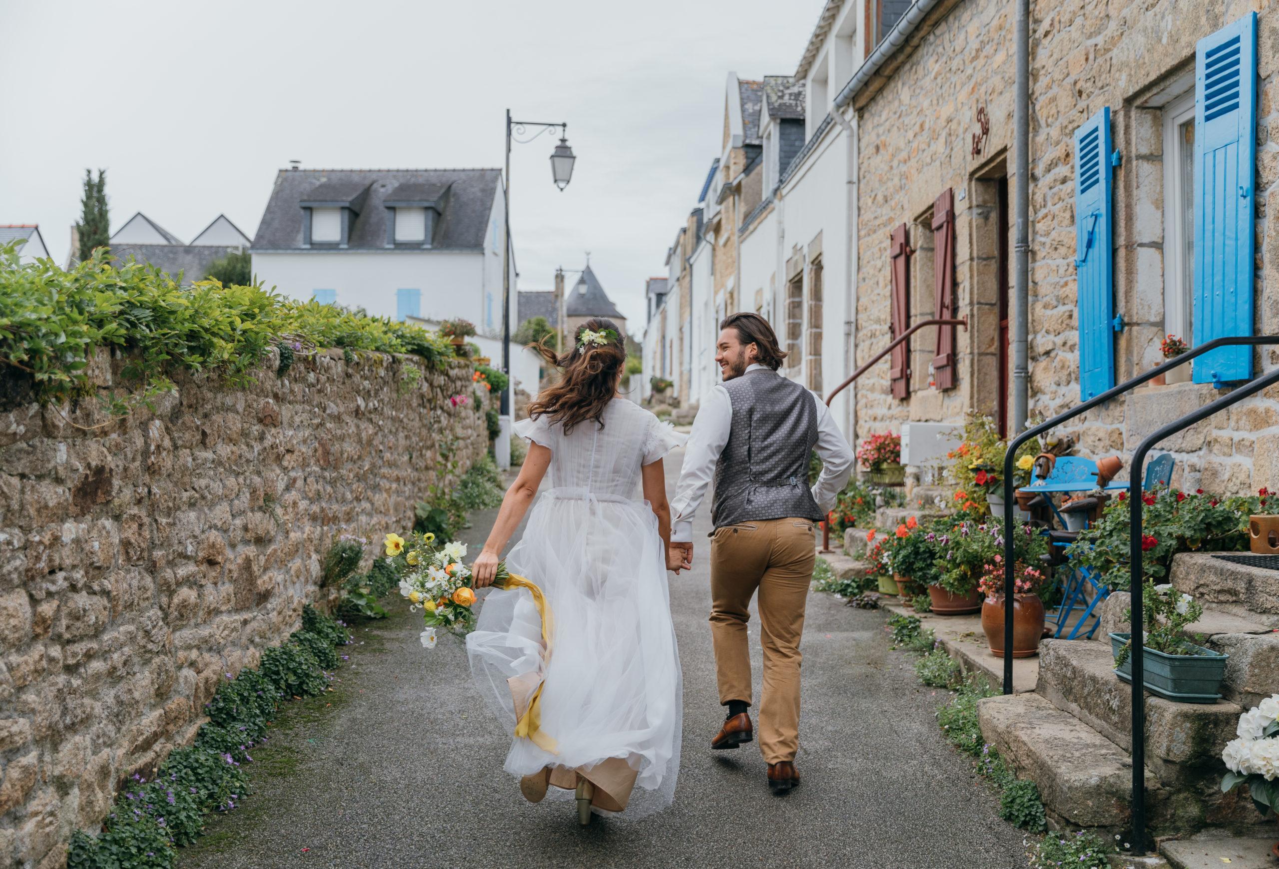 promenade de mariés