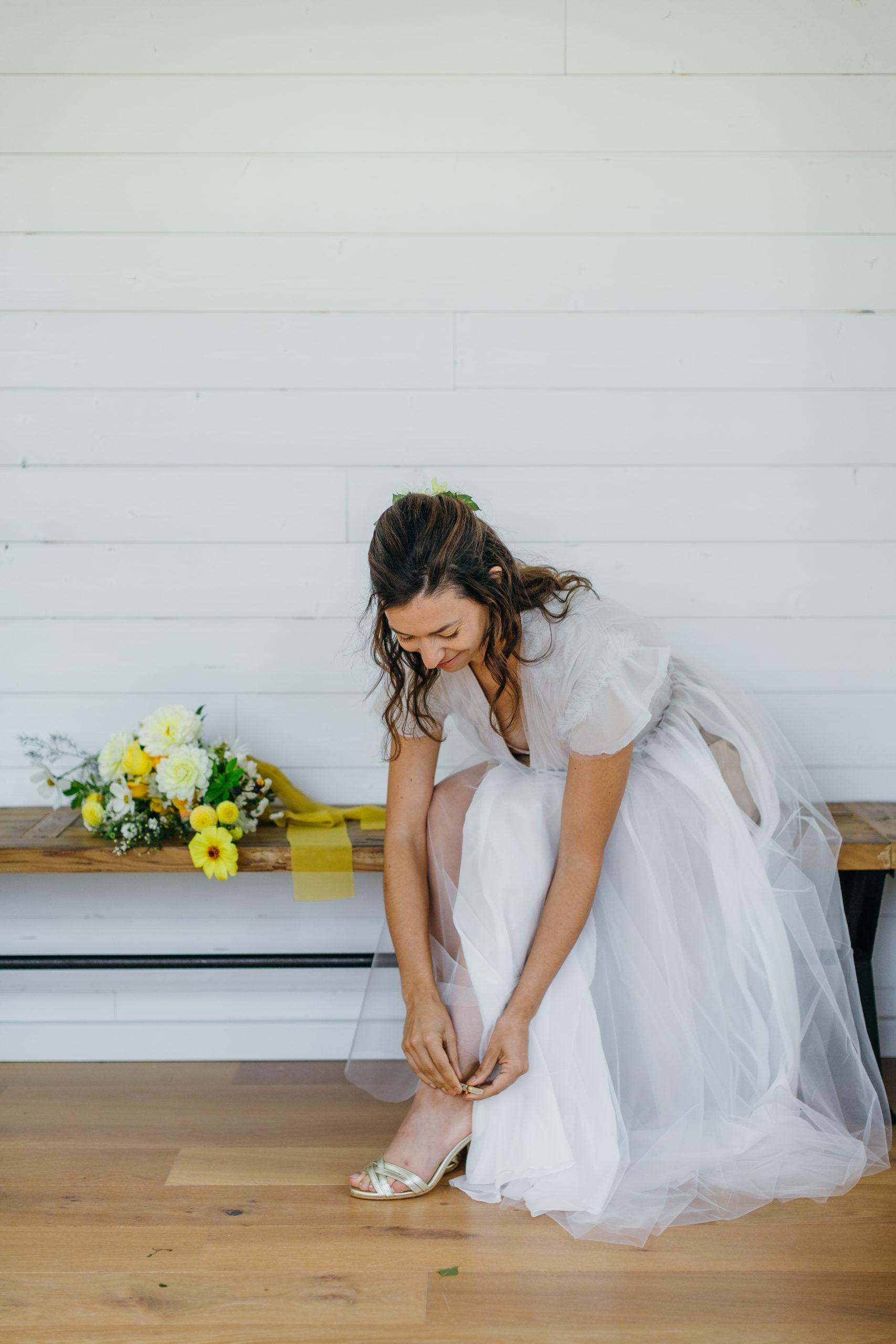 mariée préparatif jour J